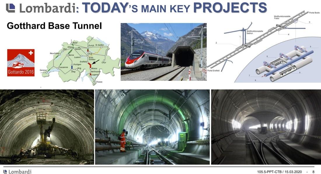 Lombardi – Experts in Tunnelling Projects – Rita Sanfilippo